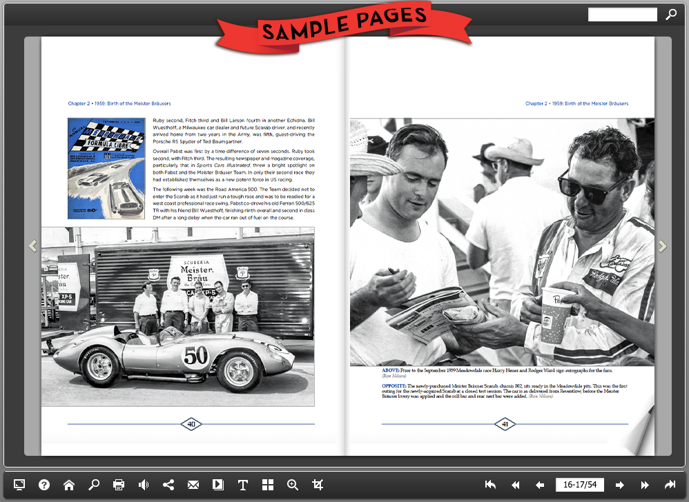 Meister Brauser: Harry Heuer's Championship Racing Team by