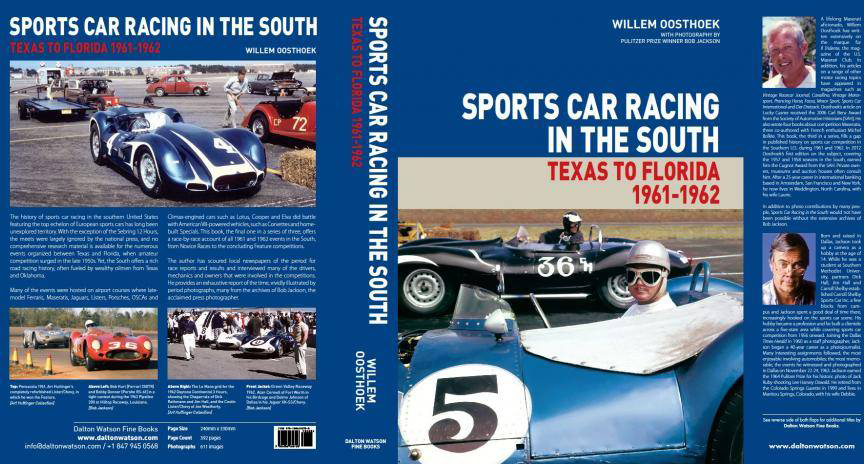 Successor Volume To The Cugnot Prize Award Winning Sports Car Racing In The  South, 1957 1958 And Sports Car Racing In The South, 1959 1960.